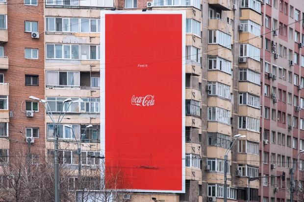 Outdoor Coca-Cola Garrafa Invisível
